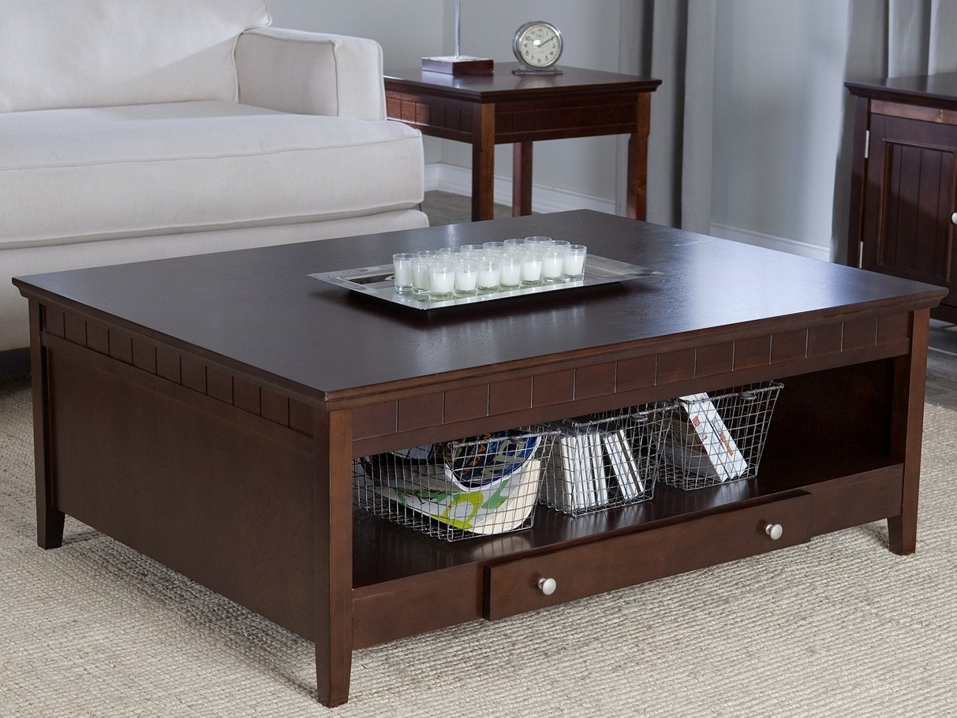 Espresso Coffee Table Design Images Photos Pictures