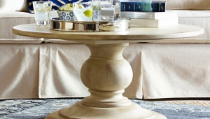 Exclusive Pedestal Coffee Table