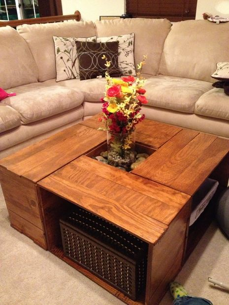 Fancy Crate Coffee Table
