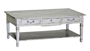 French Country Multidrawer Coffee Table