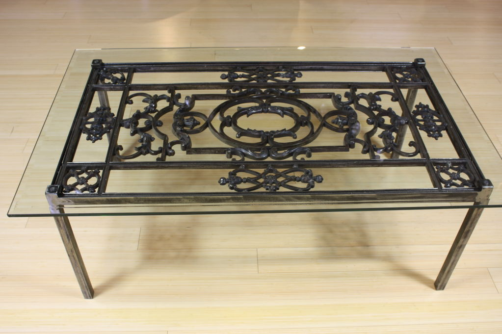 French Wrought Iron Coffee Table - Wrought Iron Coffee Table Design Images Photos Pictures