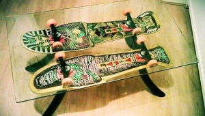 Funky Skateboard Coffee Table