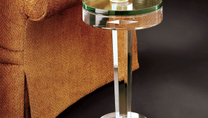 Glass Occasional Table