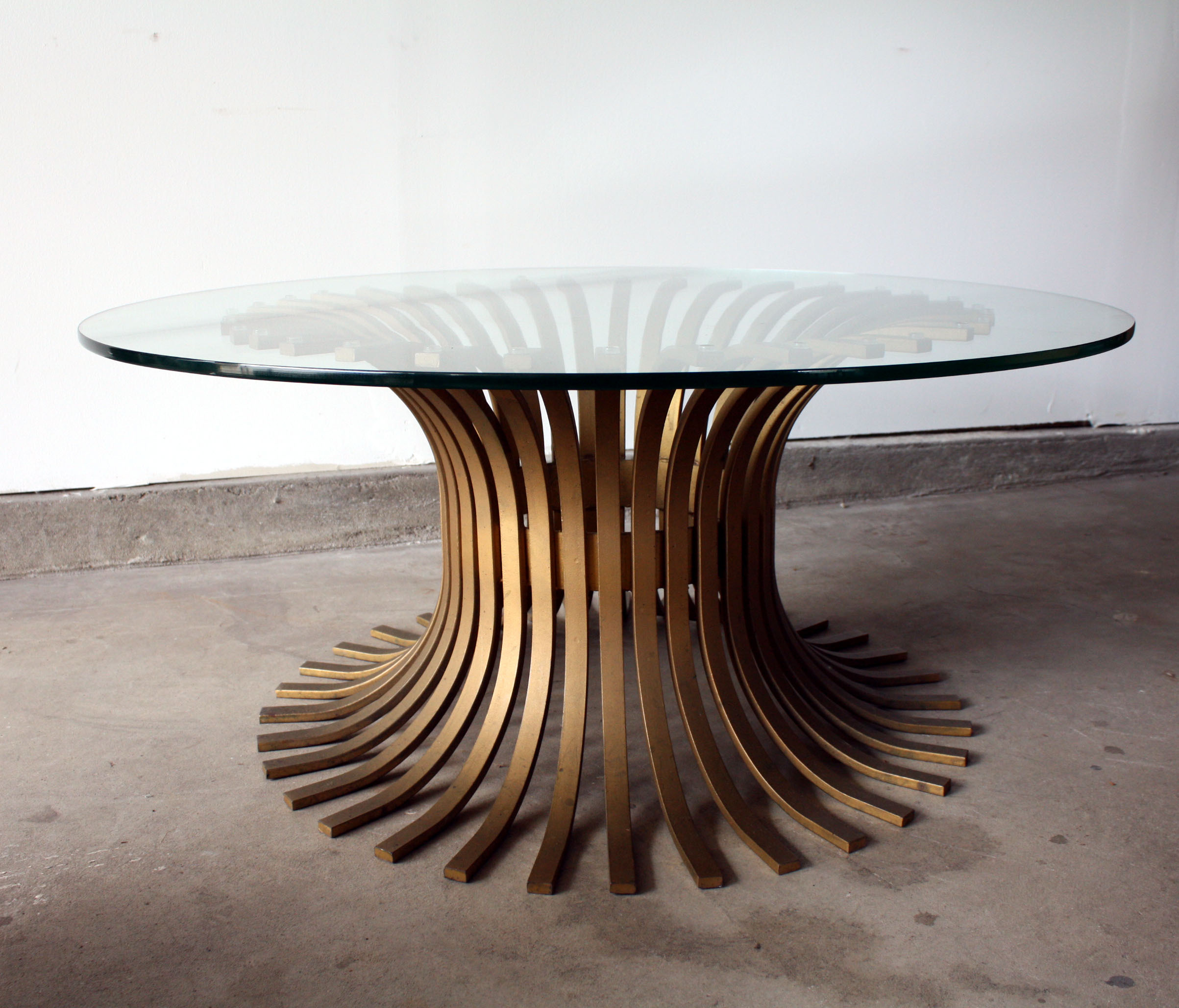 Round Glass Pedestal Coffee Table: Pedestal Coffee Table Design Images Photos Pictures