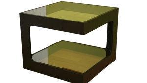 Glossy Small Coffee Table