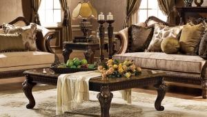 Granite Coffee Table Romantic Decor