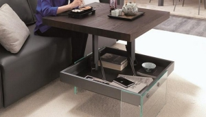 High Adjustable Coffee Table Height