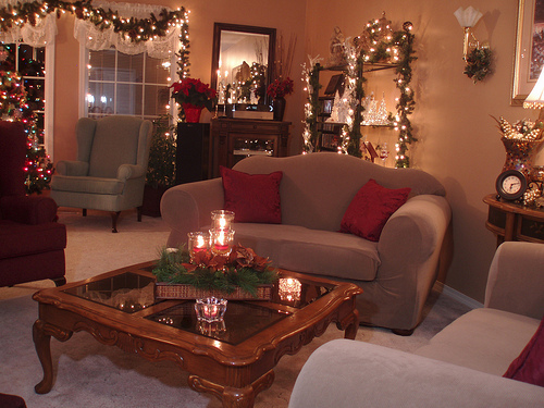 Holiday Centerpieces Decoration For Coffee Tables