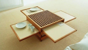 Idea For Fold Out Coffee Table