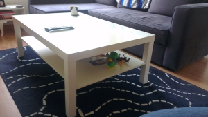 Ikea Lack Coffee Table With Shelf