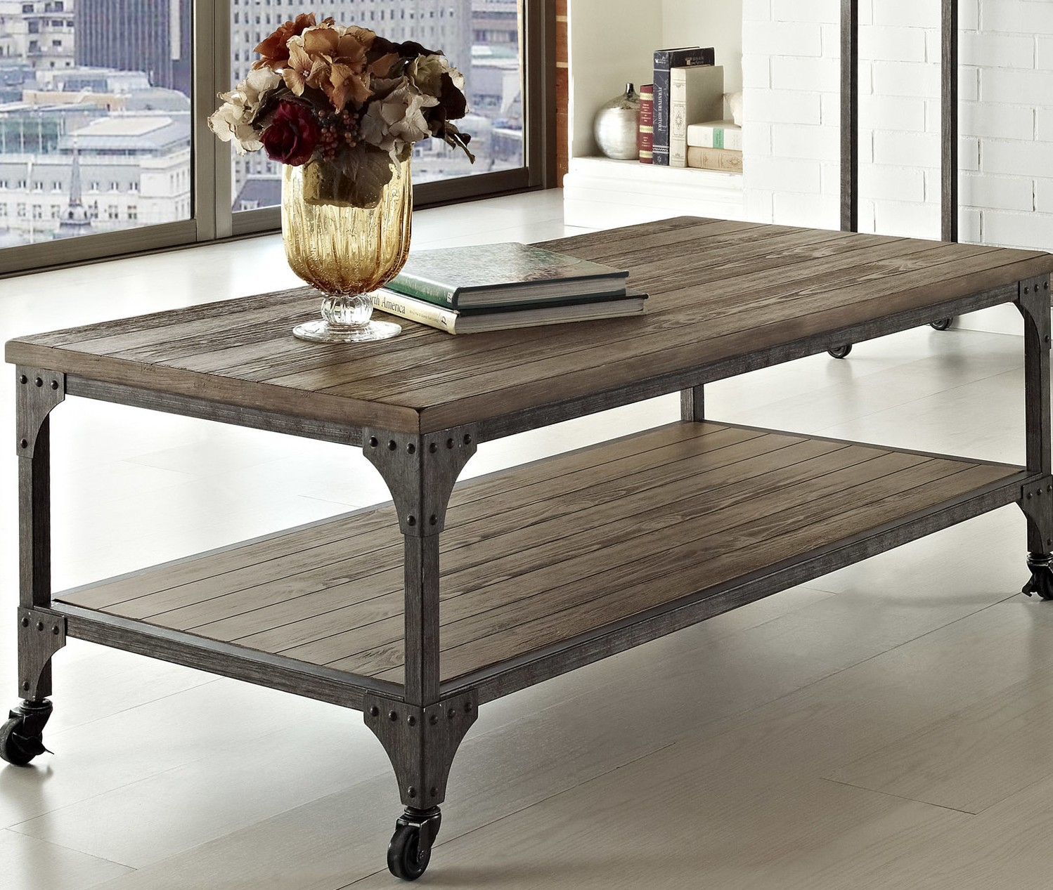 Industrial Coffee Table Images: Industrial Coffee Table Design Images Photos Pictures