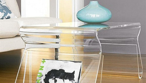 Interesting Form Acrylic Coffee Table
