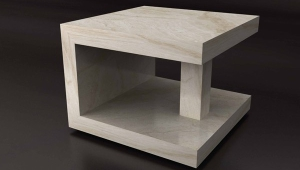 Interesting Form Small Coffee Table