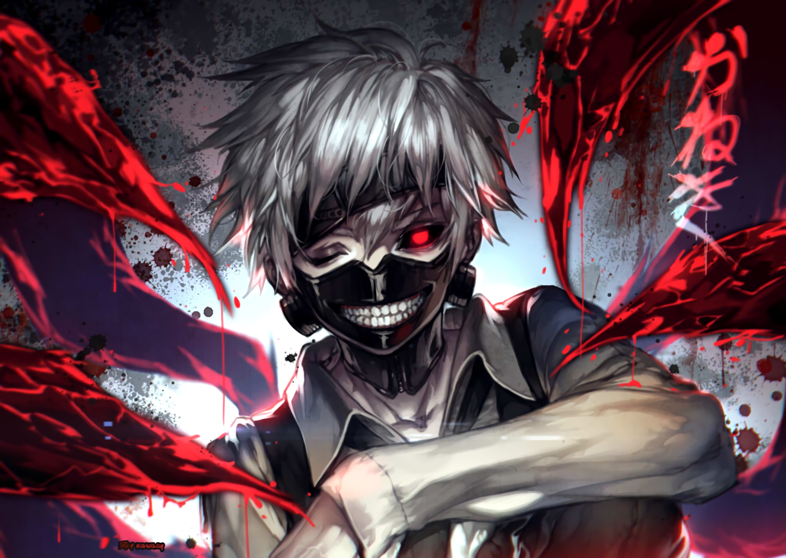 Kaneki Ken Computer Backgrounds