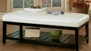 Large Tufted Coffee Table