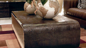 Leather Coffee Table Design