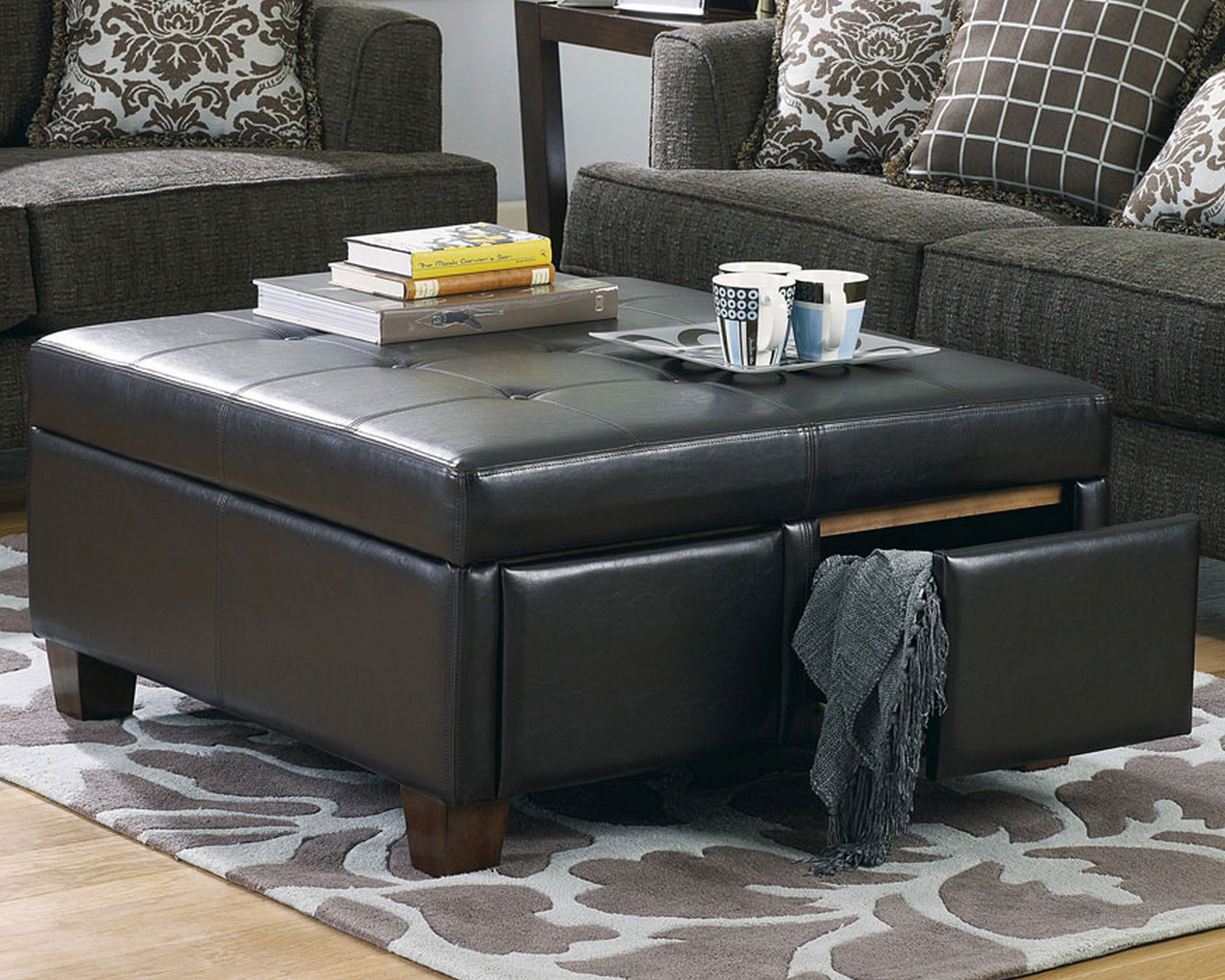 Leather Coffee Table Design s