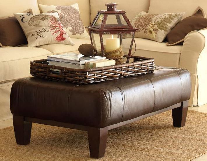 Ottoman Coffee Table Tray