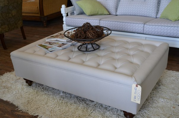 Upholstered Coffee Table Design Images Photos Pictures