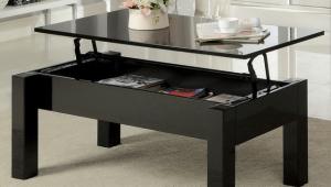 Lift Black Coffee Table
