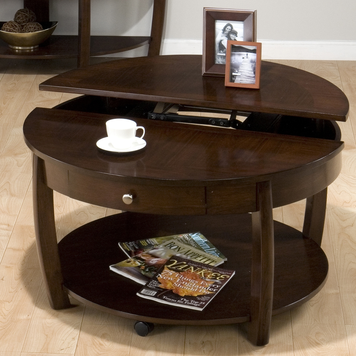 Lift Top Coffee Table Idea