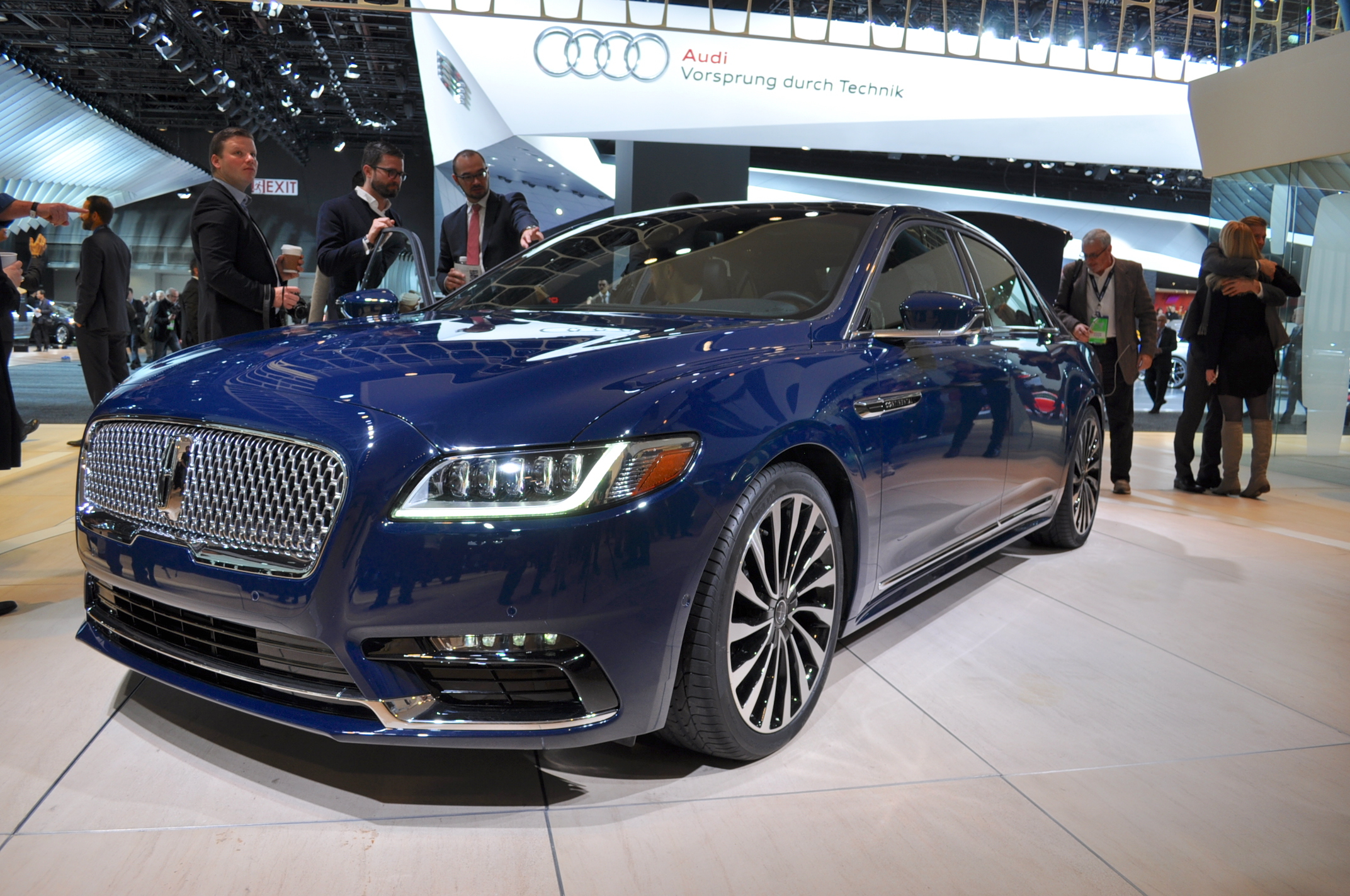 Lincoln Continental 2017 For Desktop