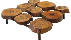 Log Coffee Table Design