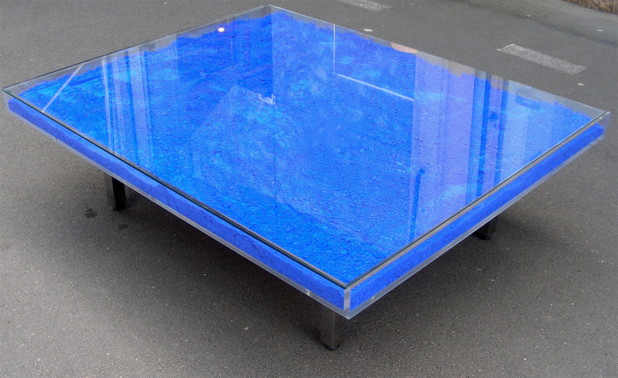 Low Blue Coffee Table - Blue Coffee Table Design Images Photos Pictures