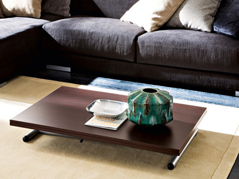 Low Coffee Table Wood Acanto French