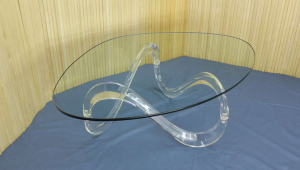 Lucite Coffee Table Original Design