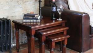 Mahogany Coffee Table Set