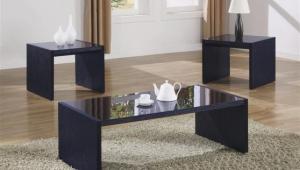 Minimalistic Coffee Table Set
