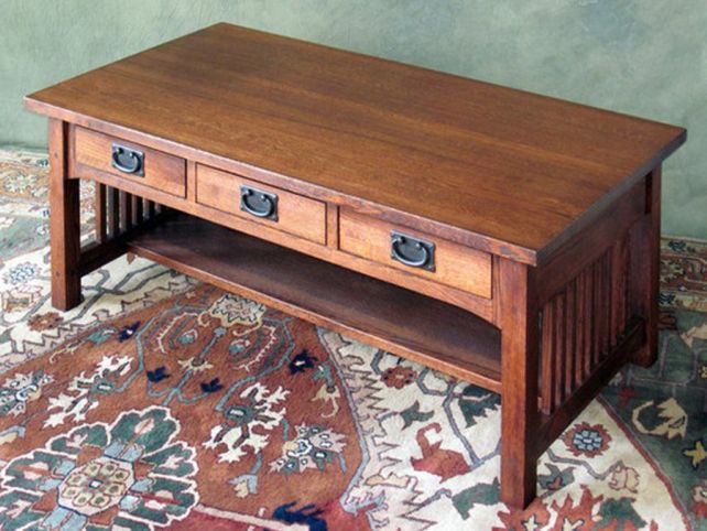 Mission Style Coffee Table Design Images Photos Pictures