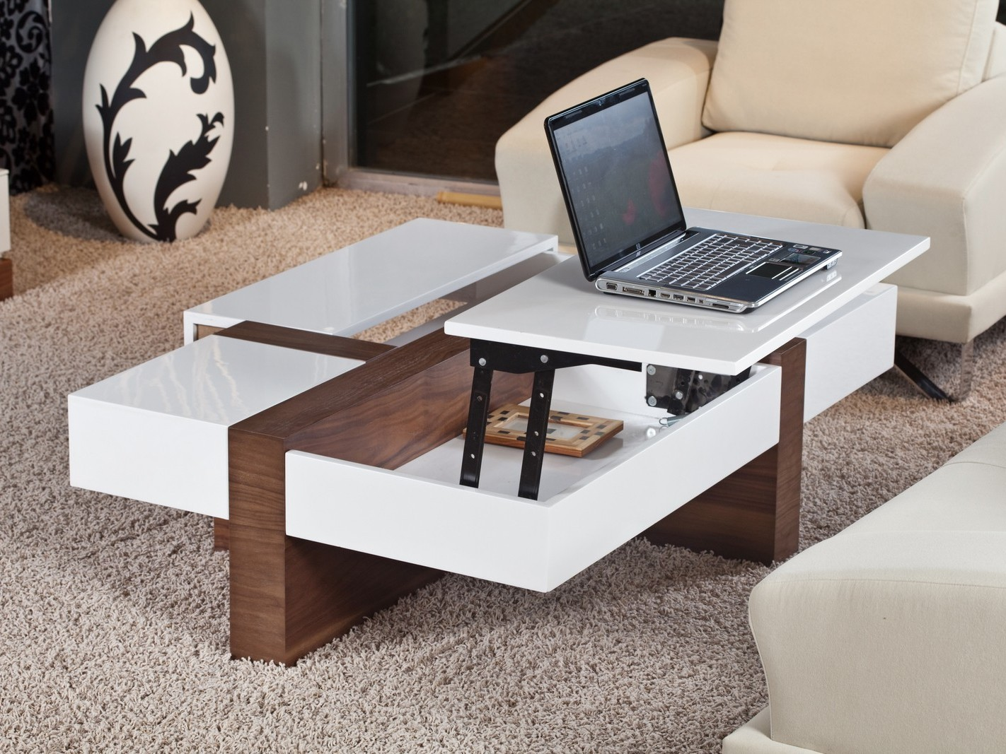 Modern Pop Up Coffee Table