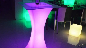 Multicolor Cocktail Table