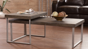 Narrow Coffee Table Set