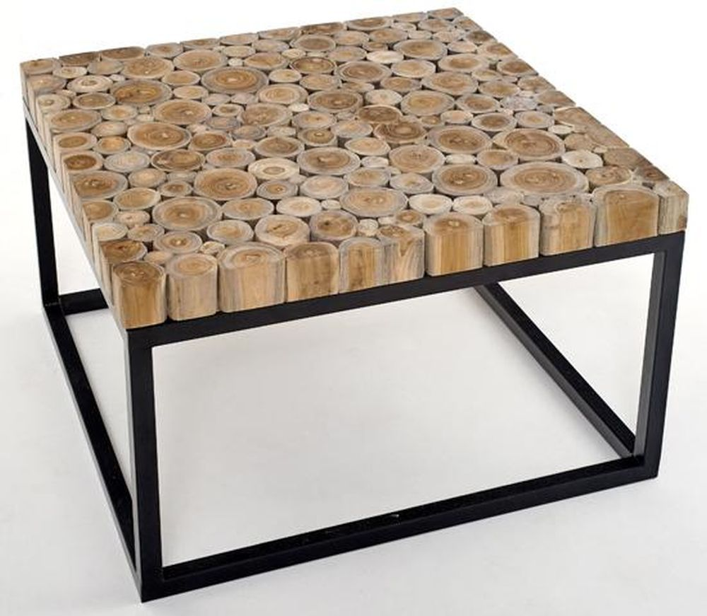 Wood and metal coffee table design images photos pictures Metal table base