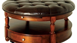 Ottoman Round Coffee Table