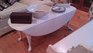 Painted Drop Leaf Coffee Table
