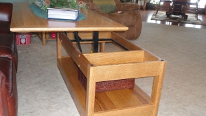 Pop Up Coffee Table Desk