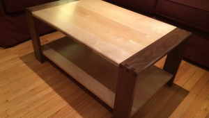 Pretty Maple Coffee Table