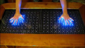 Reactive Led Coffee Table