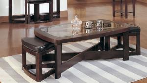 Rectangular Coffee Table Set