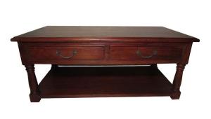 Red Mahogany Coffee Table