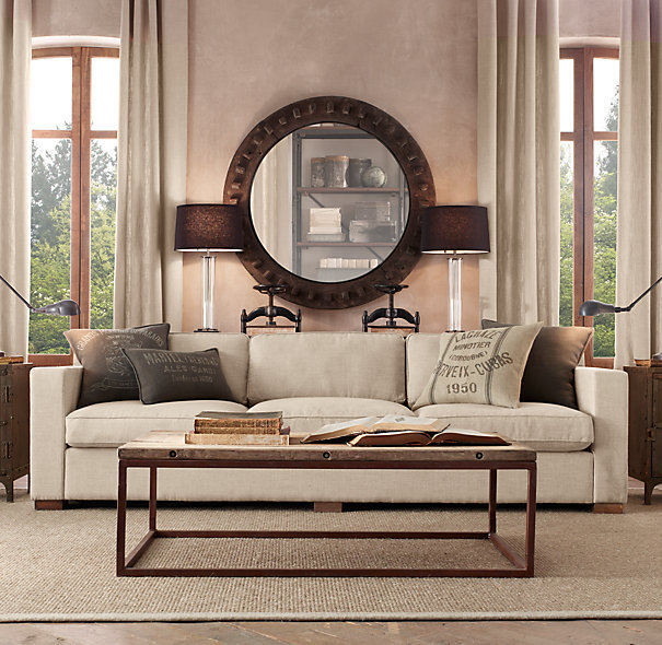 Restoration Hardware Coffee Table Design Images Photos