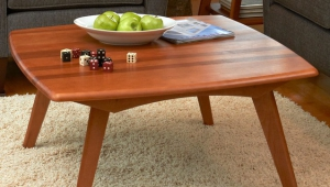 Retro Wooden Coffee Table