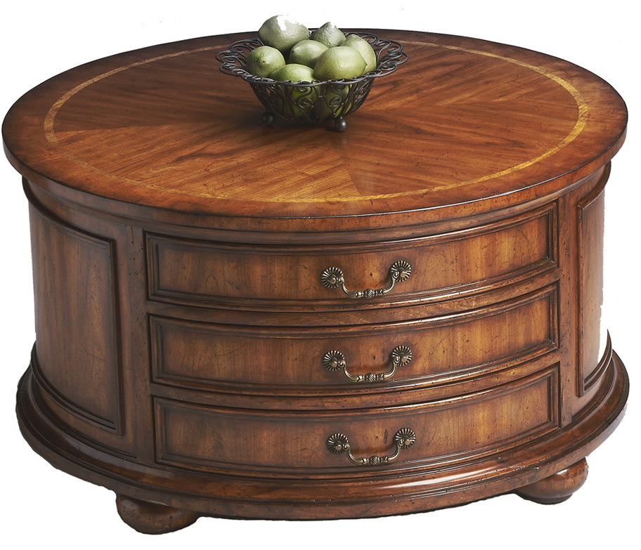 Coffee table with drawers design images photos pictures What to put on a round coffee table