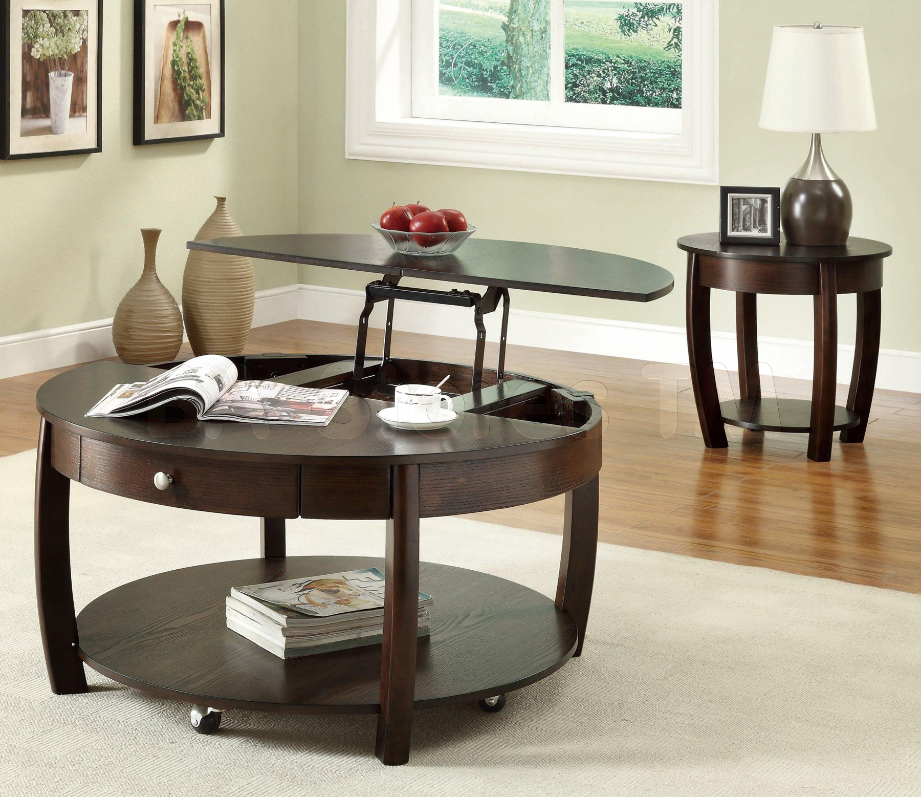 Greenwich Round Coffee Table Choice Of Size: Lift Top Coffee Tables Design Images Photos Pictures