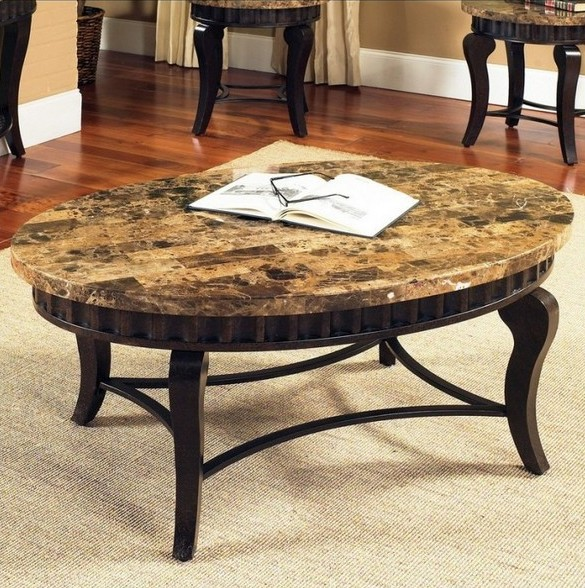 Granite coffee table design images photos pictures for Stone topped coffee tables
