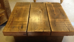 Rustic Pine Coffee Table